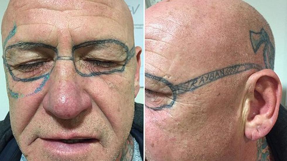 gafas tatuado